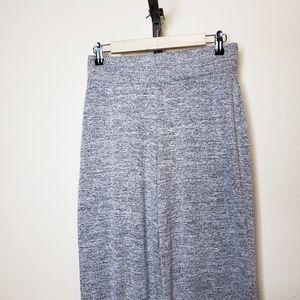 GAP Pants - Gap Softspun Knit Wide Leg Pants Light Gray NWT